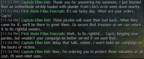 Also, Kiel isn't a selfish sort.