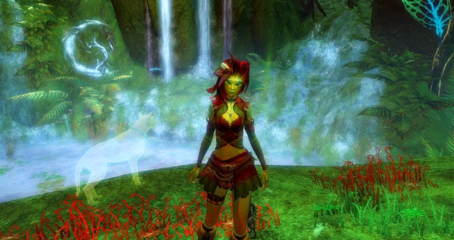 Liusaidh, my main, having just been created.