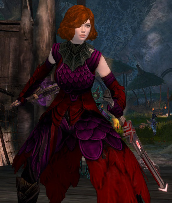 Rianna Xi, the newest of my level 80s.