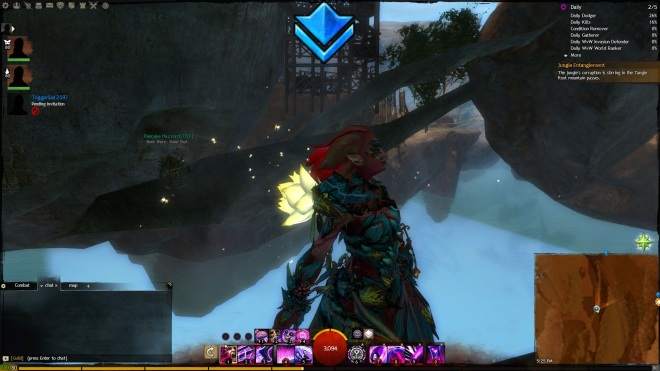 That's also a really good shot of my mesmer. Neat.